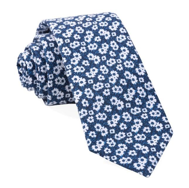Alfresco Floral Navy Tie