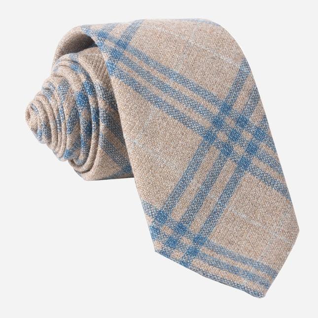 Barberis Wool Neutro Oatmeal Tie