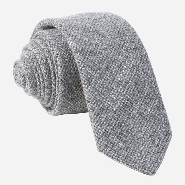 Barberis Wool Vestito Grey Tie