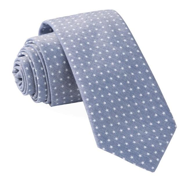 Summer Stars Navy Tie