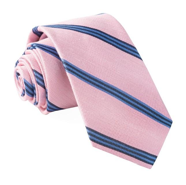 Topside Stripe Pink Tie