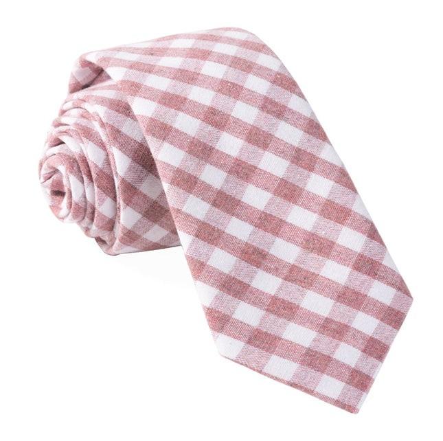 Yacht Checks Raspberry Tie