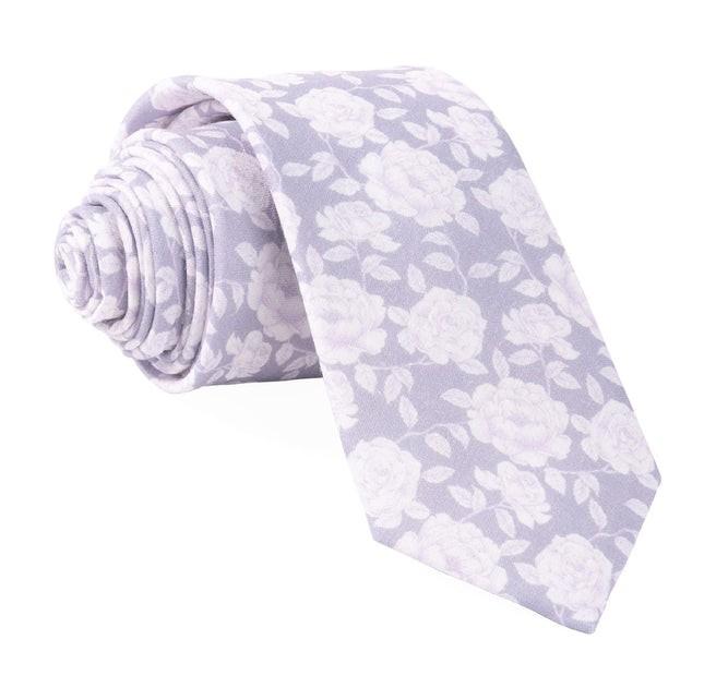 Bhldn Floral Gala Lavender Tie