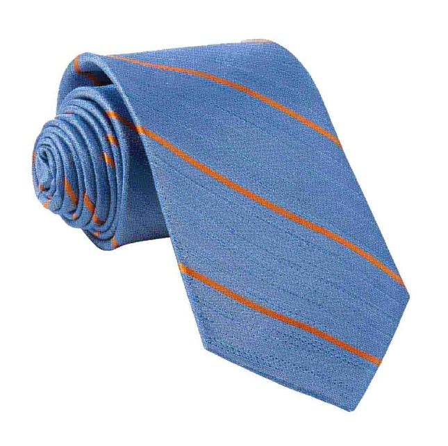Summer Rays Classic Blue Tie