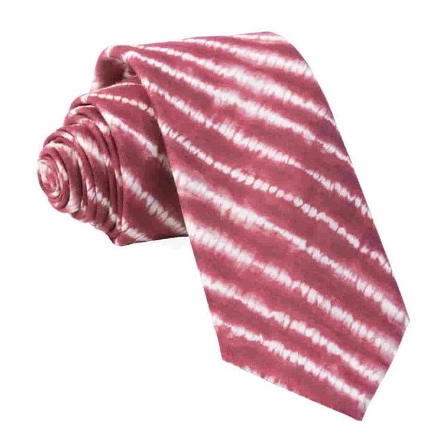 Day Dreamer Stripe Burgundy Tie