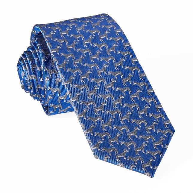 Democratic Donkey Classic Blue Tie