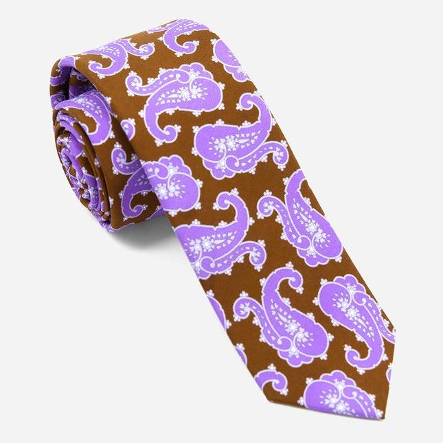 Wild Paisley Lavender Tie