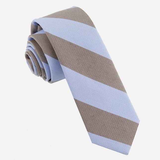 Frosty Stripe Lavender Tie