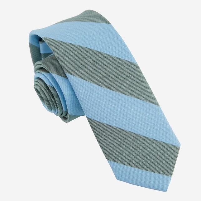 Frosty Stripe Light Blue Tie