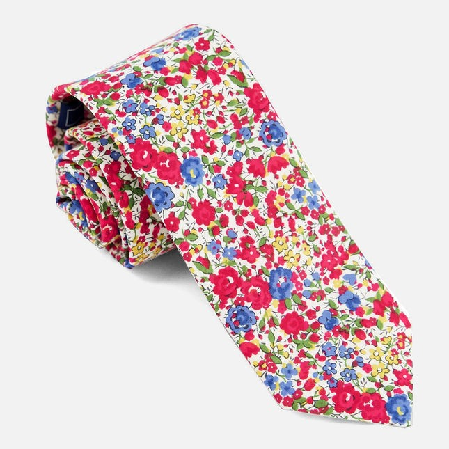 Liberty Emma And Georgina Red Tie