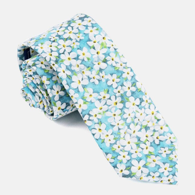 Liberty Petal Wish Pool Blue Tie