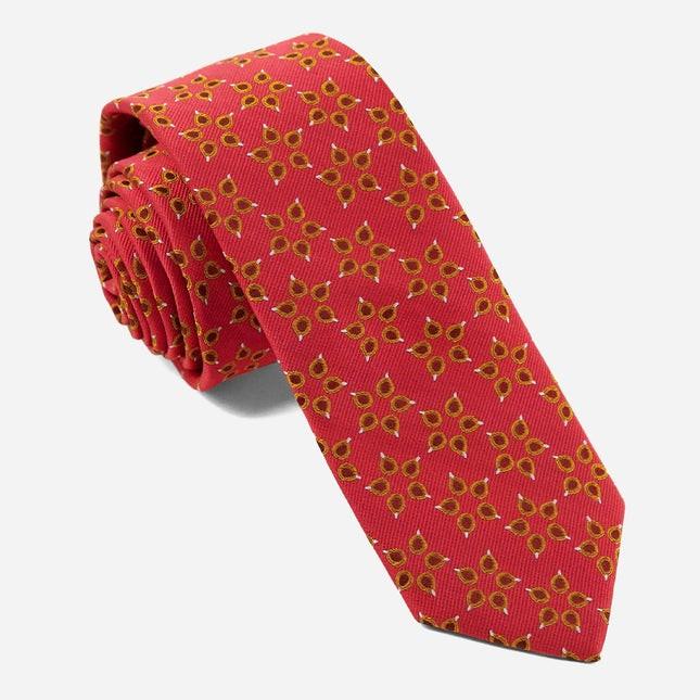 Diwali Celebration Red Tie