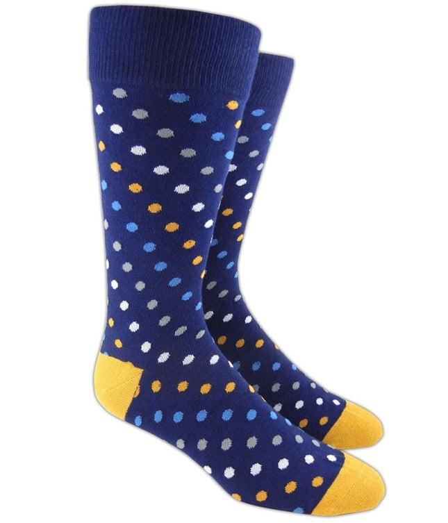 Spotlight Navy Dress Socks
