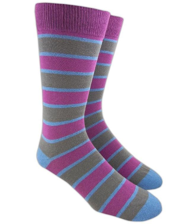 Bold Stripe Azalea Dress Socks