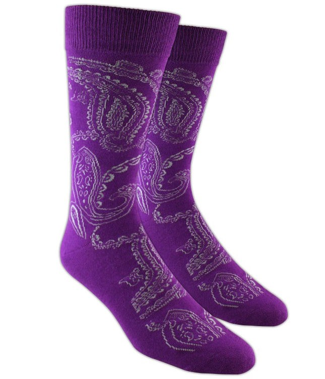 Platform Paisley Azalea Dress Socks