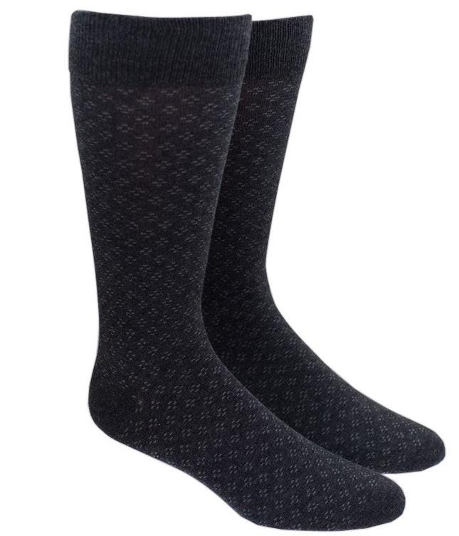 Speckled Charcoal Dress Socks