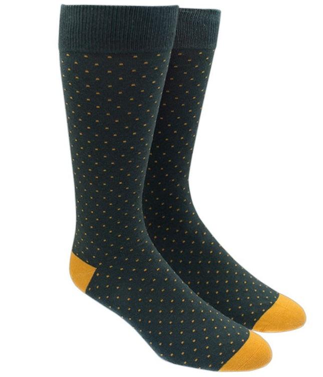 Mini Dots Hunter Dress Socks