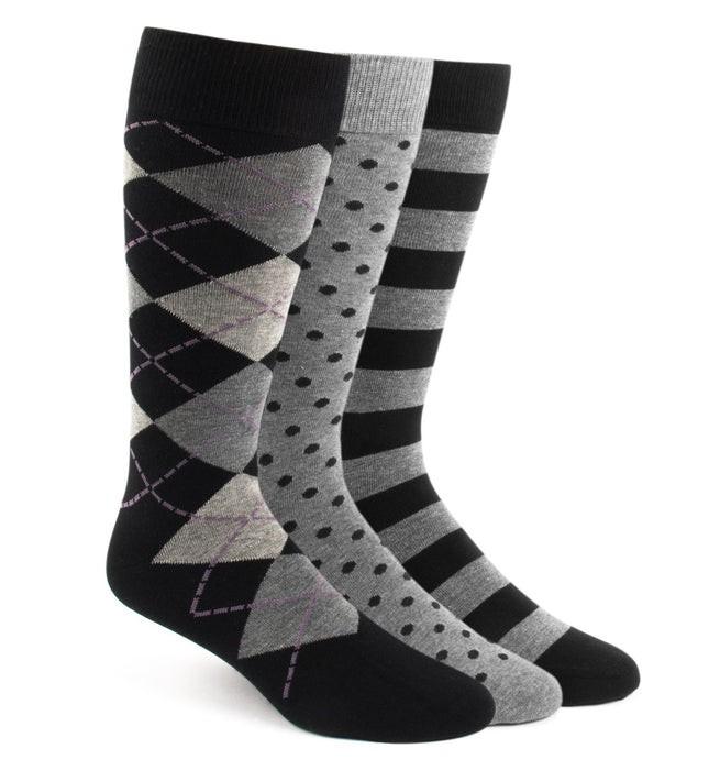 The Black Sock Pack Dress Socks