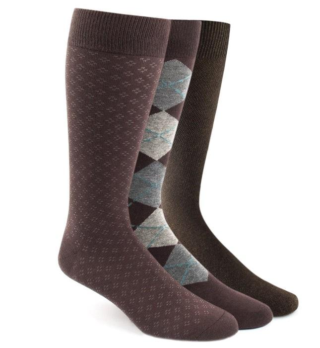 The Brown Sock Pack Dress Socks