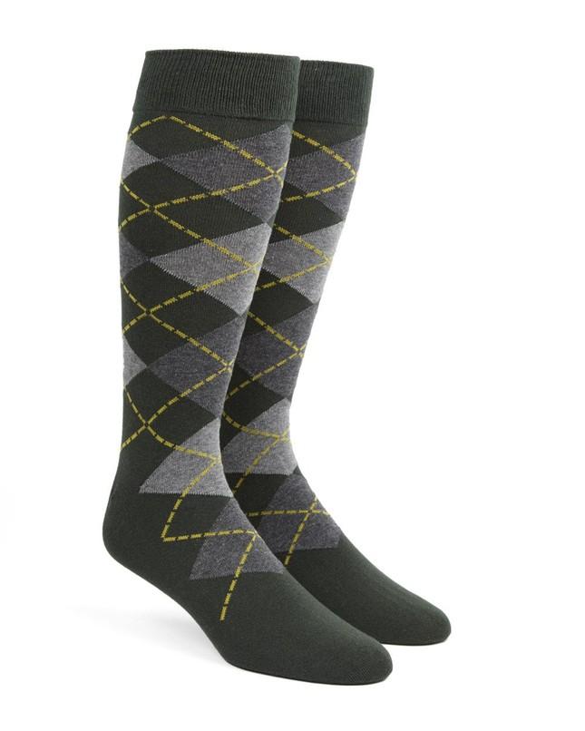 Argyle Hunter Dress Socks