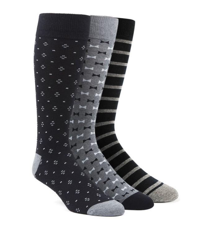 The Formal Sock Pack Black Dress Socks