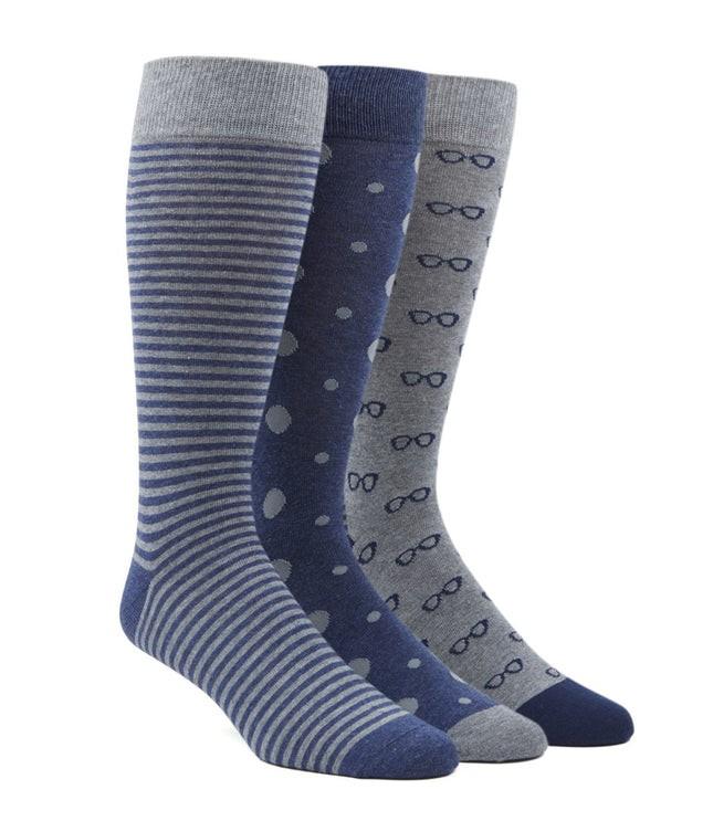 The Navy Sock Pack Dress Socks