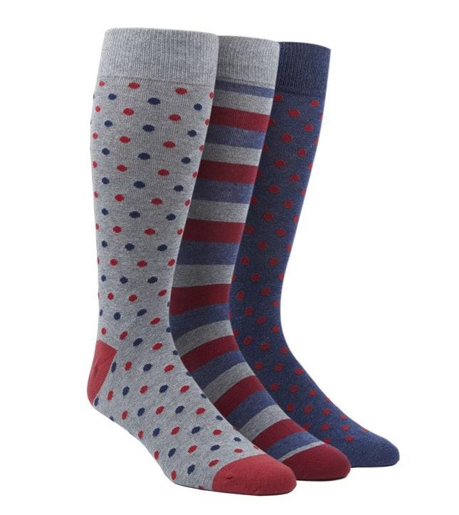 The Red Sock Pack Dress Socks