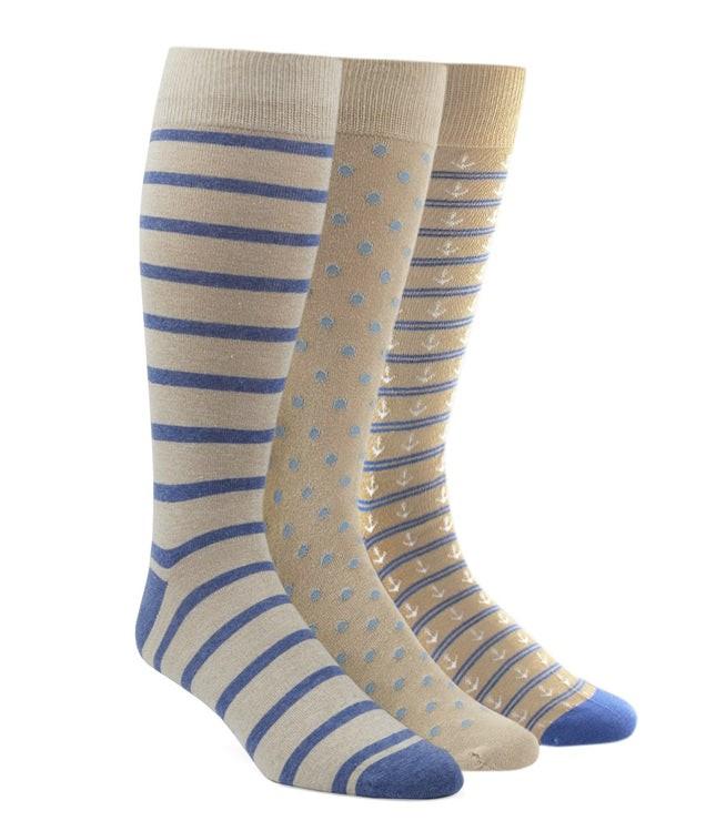 The Khaki Sock Pack Dress Socks