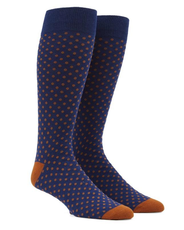 Pindot Amber Dress Socks