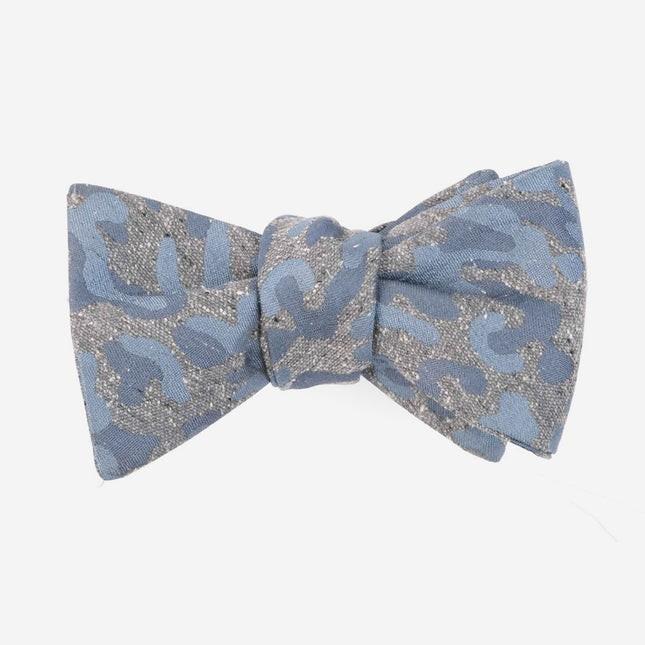 Speckled Camo Grey Bow Tie