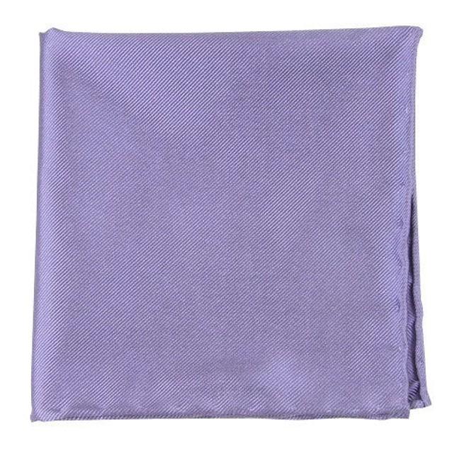 Solid Twill Lavender Pocket Square