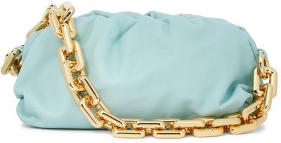 Chain Pouch leather shoulder bag