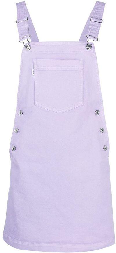 A-line mini pinafore dress
