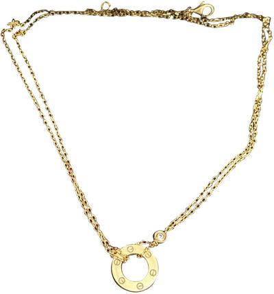 Love Gold Yellow gold Necklaces