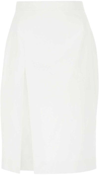 Side-Slit High-Rise Skirt