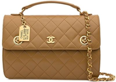1985-1990 CC diamond-quilted 2way bag