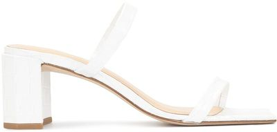 Double-Strap Leather Sandals