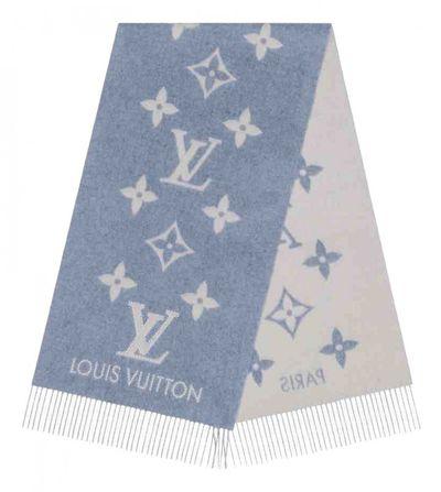 REYKJAVIK Blue Cashmere Scarves