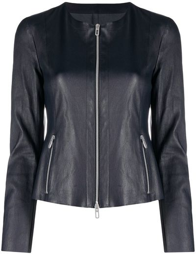 Fitted Zip-Front Jacket