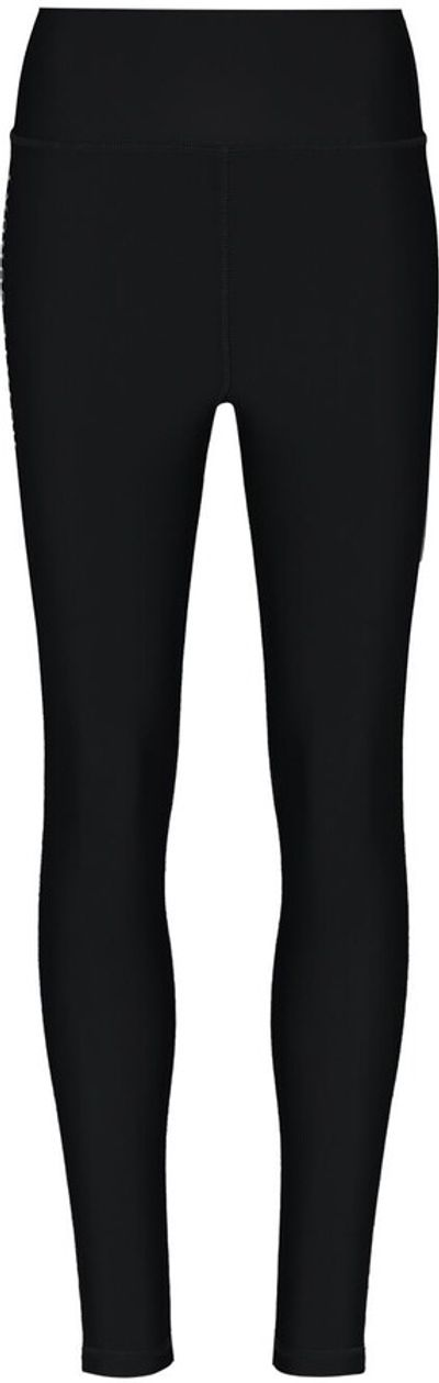 Side Logo Print Leggings