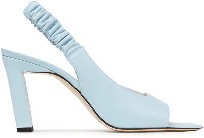 Isa Leather Slingback Sandals