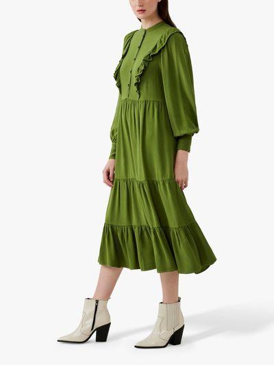 Esma Frill Midi Dress