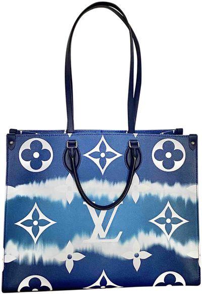 blue Cloth Handbags