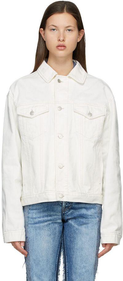 White Oversized Denim Jacket