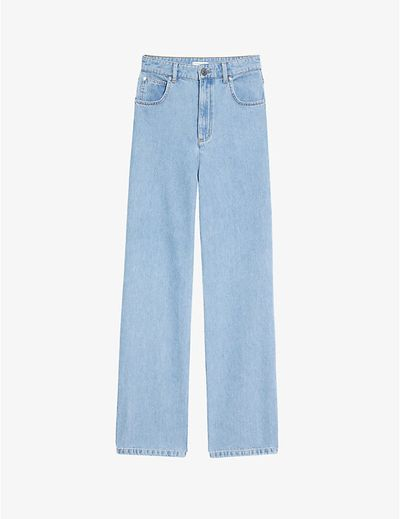 Jordy high-rise wide-leg jeans