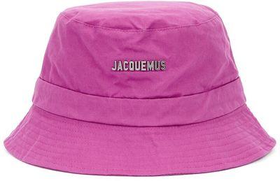 Le Bob Gadjo Pink Cotton Bucket Hat