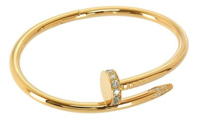 Juste un Clou Gold Pink gold Bracelets