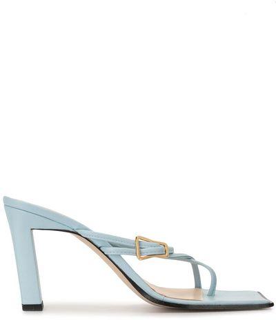 Yara square-toe sandals
