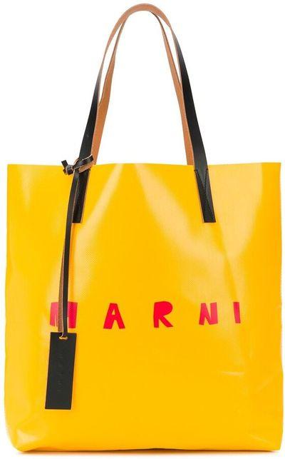 Logo-Print Tote Bag
