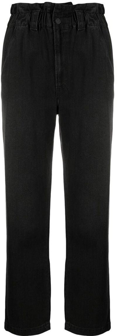 Paperbag-Waist Jeans